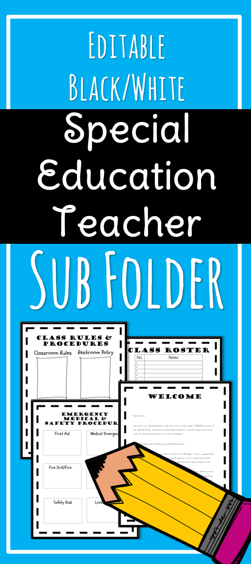 editable substitute teacher binder for special education it resume headline medical administrative assistant career objective customer service manager