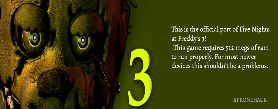 download five nights at freddys 3 mod apk