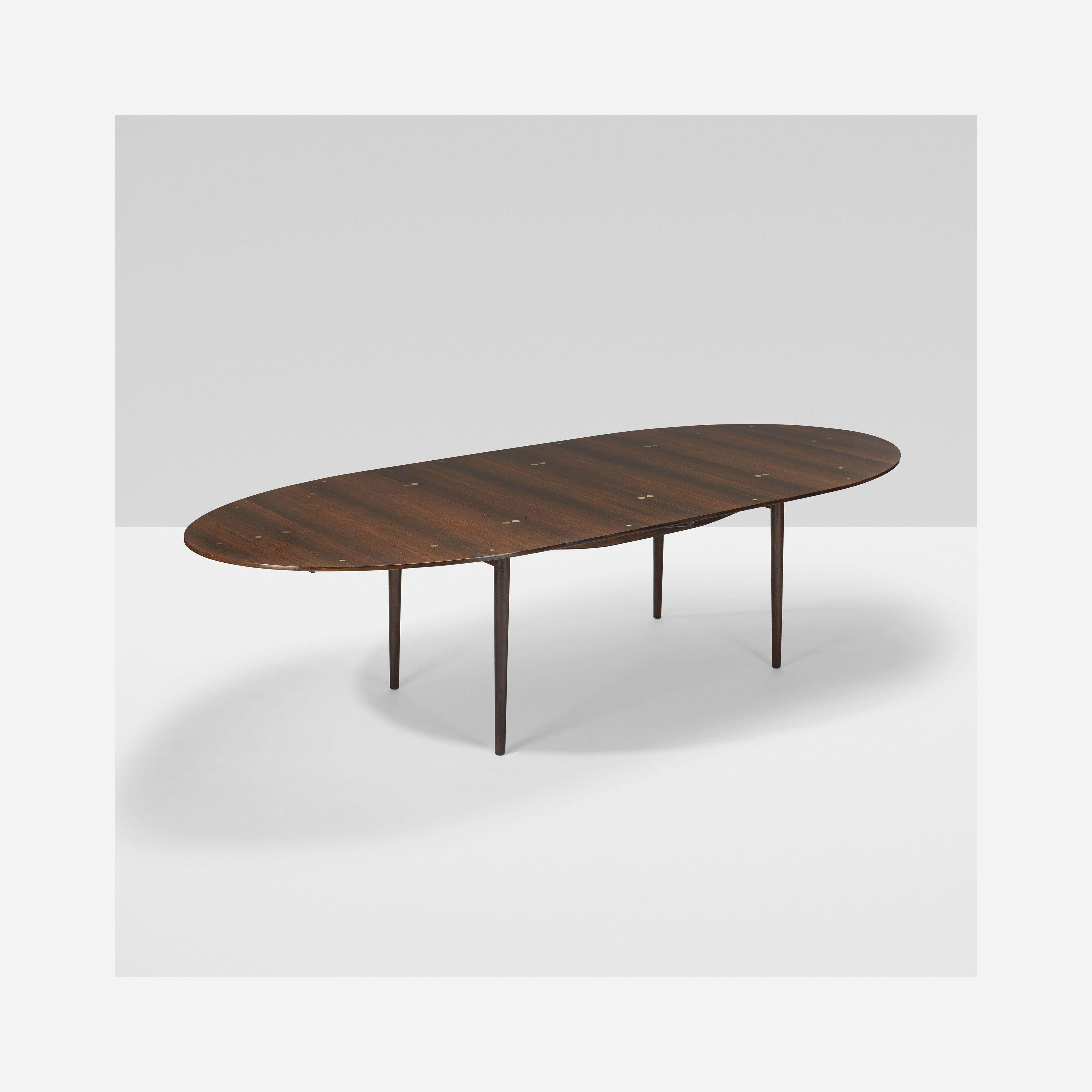 Judas Dining Table C 1950, Rosewood,