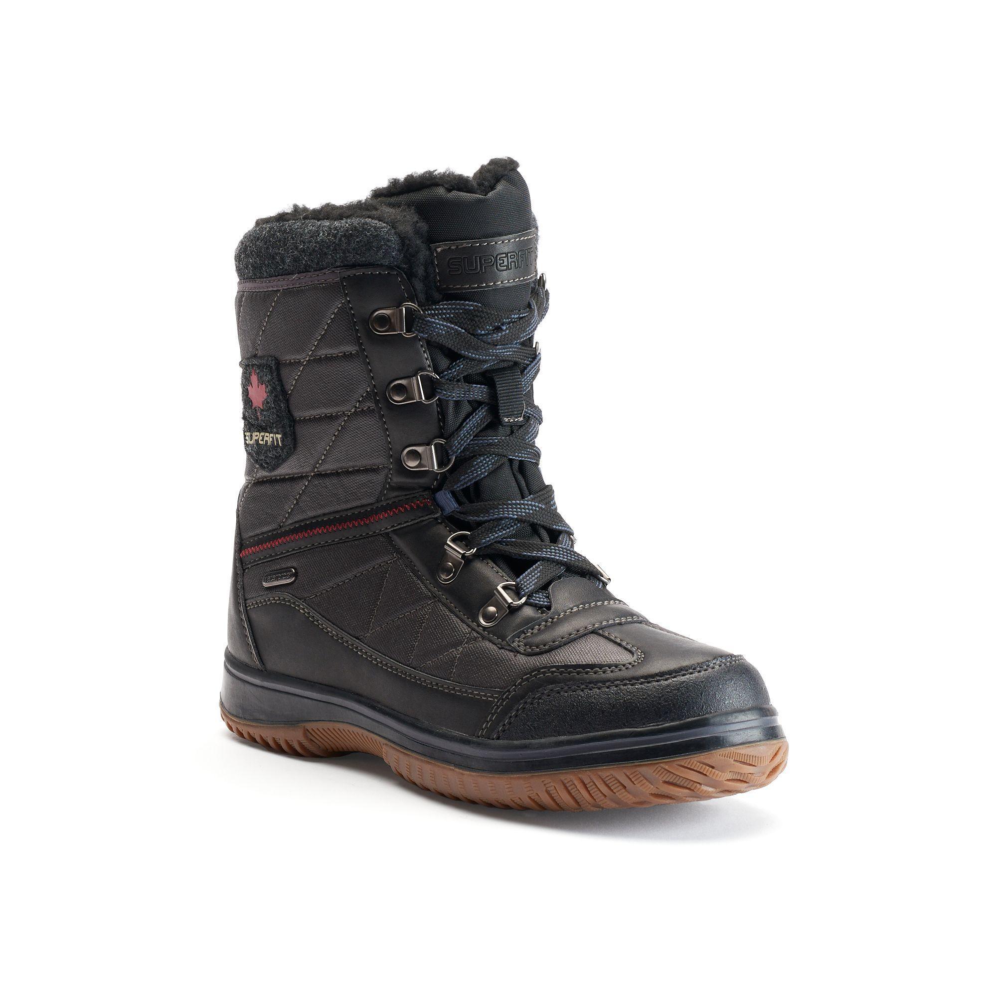 Sport Superfit Ulix Mens Waterproof Winter Boots