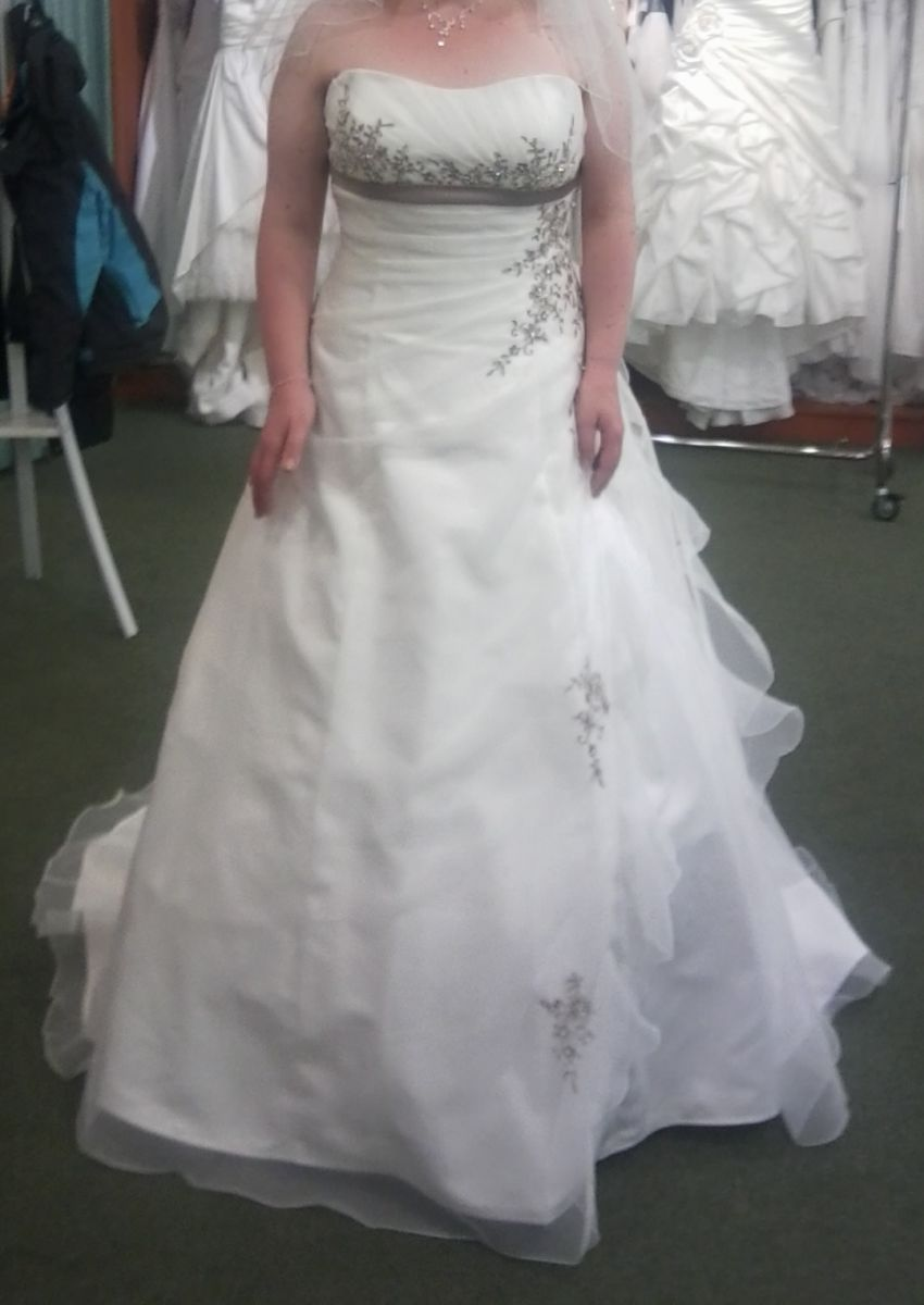 ♥ Traumhaftes Brautkleid Marke Ladybird A-Linie Größe 44 ♥ Ansehen ...