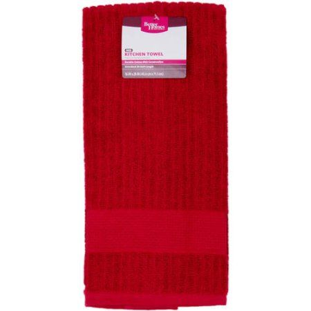 Home Kitchen Towels Better Homes Red Kitchen