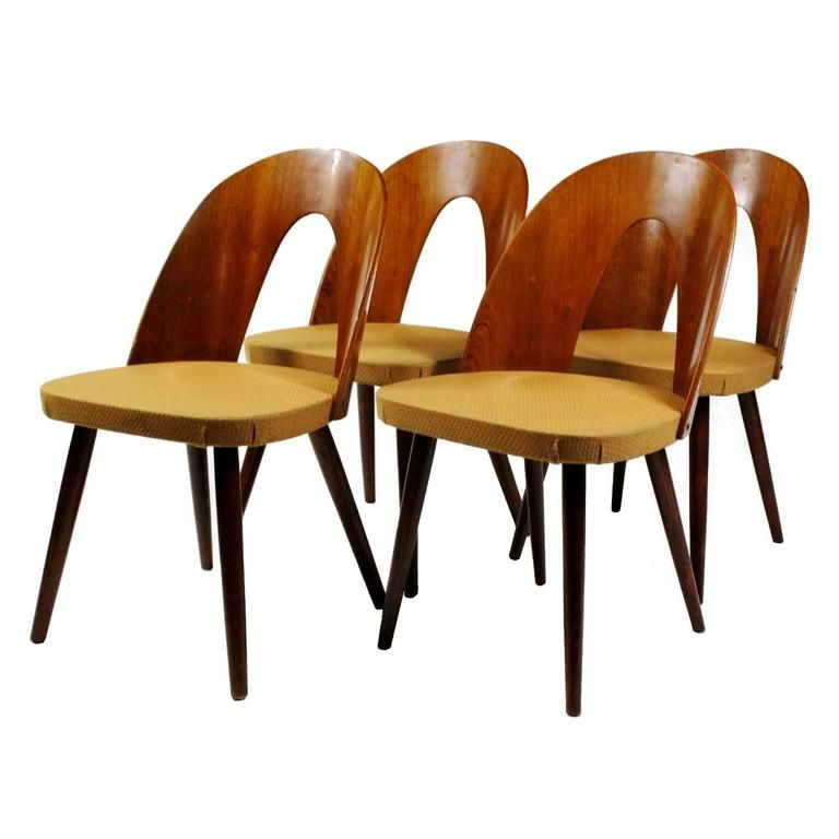 Set Of Four Dining Chairs Tatra Antonin Suman 1960s From A Unique Collection Chair Dining Chair Set Dining Chairs Set of four dining chairs