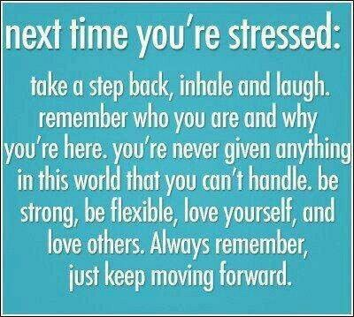 Next time your stressed