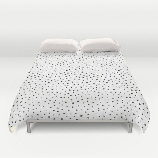 dalmatian print duvet