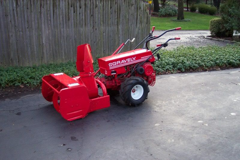 Gravely professional with snow cannon tractors pinterest are new ariens snowblowers as good as or better than a snowblower on a walkbehind or tractor publicscrutiny Choice Image