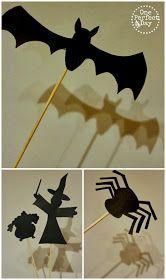 DIY - Brincar com sombras! #activitemanuellehalloween Fraldas & Rabiscos: DIY - Brincar com sombras! #activitemanuellehalloween