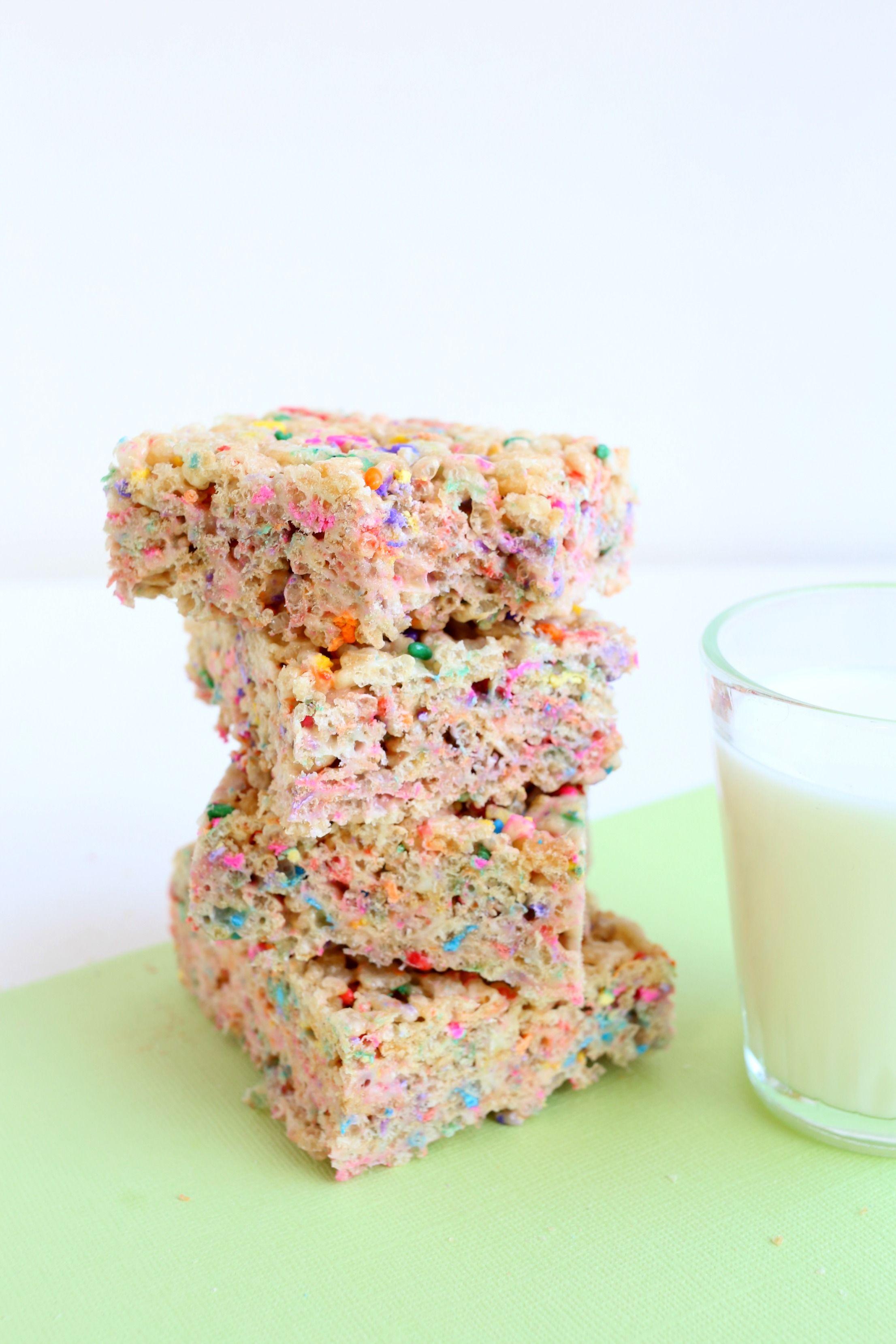 Bright Sprinkles Turn The Classic Dessert Into Birthday Cake Rice