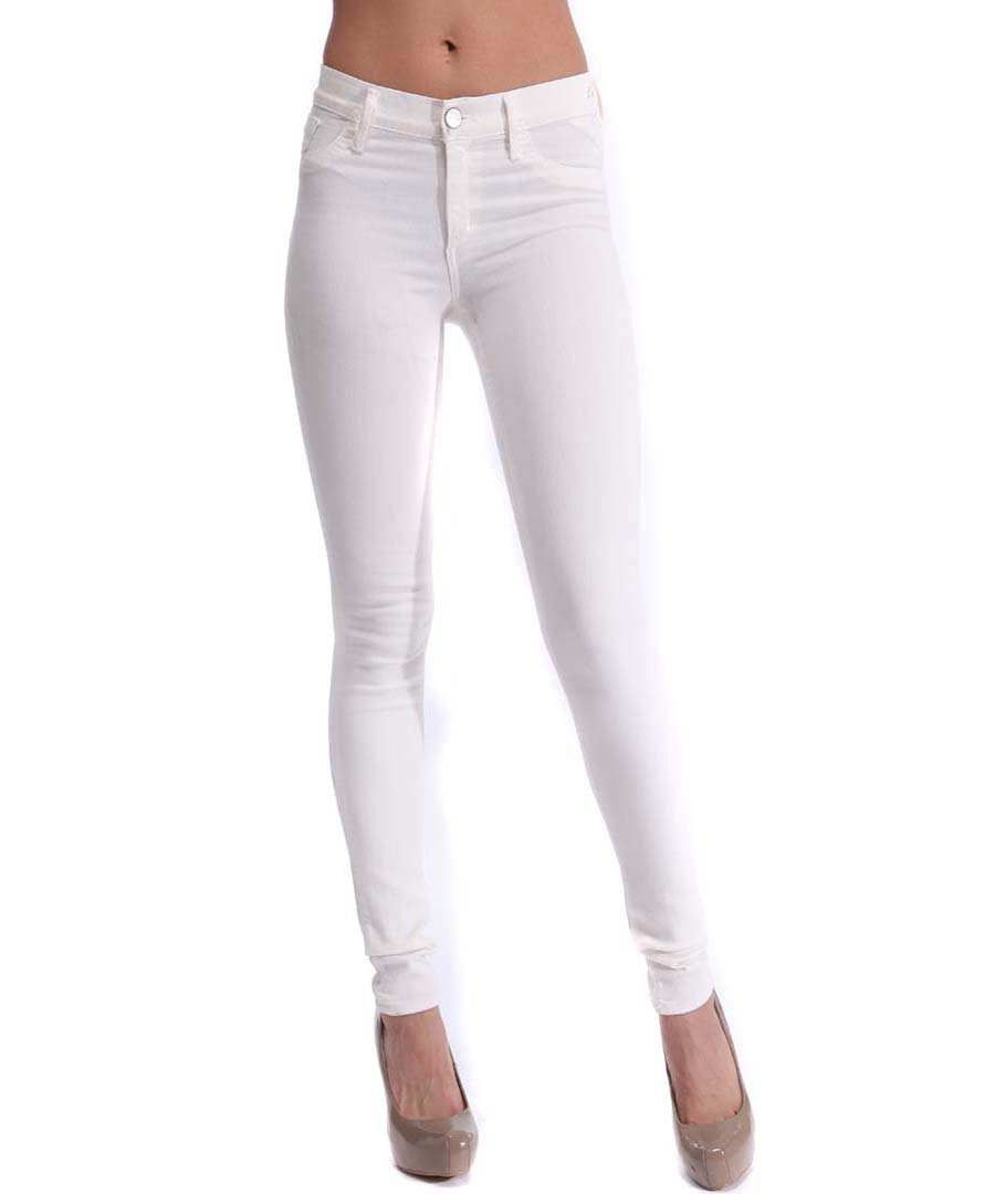 Images of White Skinny Pants For Women - Reikian