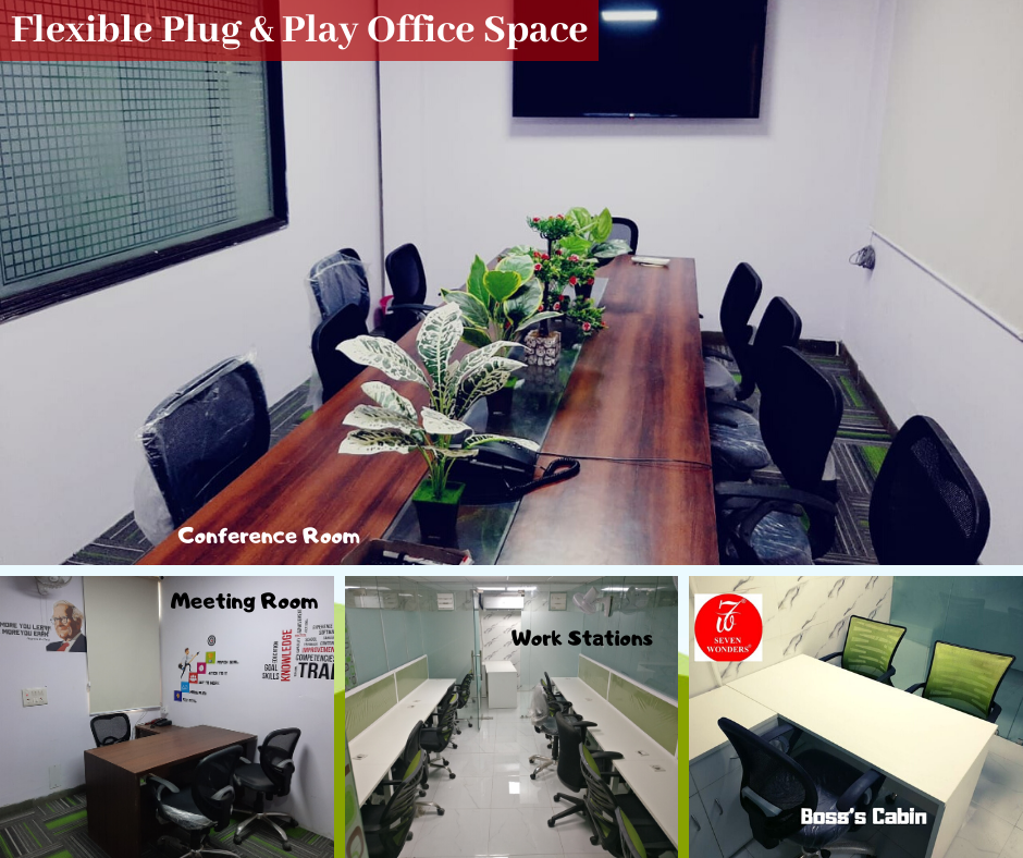 Flexible Plug & Play Office Space in Noida & East Delhi