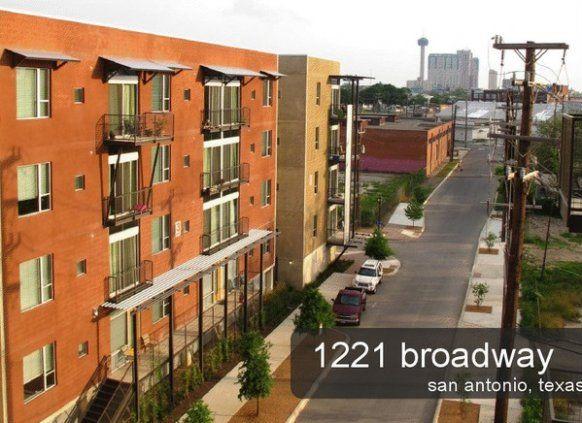 1221 Broadway Downtown San Antonio Apartments Downtown San Antonio San Antonio Apartments San Antonio