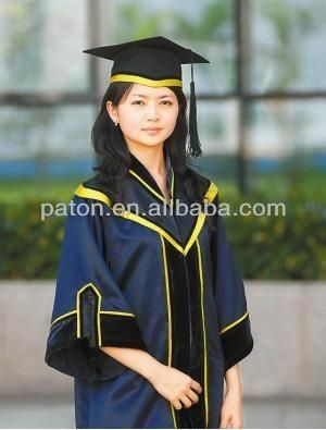 latest new design school graduation gown | Academic robes ...
