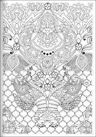 Coloriage Anti Stress Psychedelique