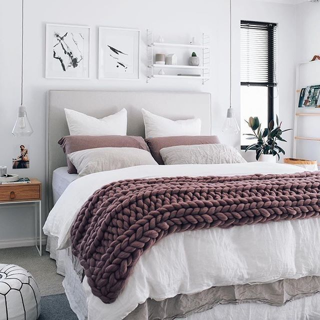 Mauve Bedroom. The prettiest bedroom  Instagram s Most Loved Pinterest