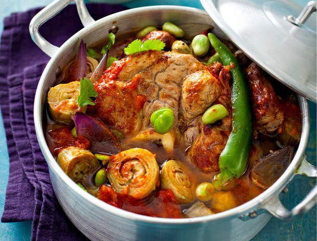 Veau aux cardons et cœurs d'artichautVoir la recette du veau aux cardons et cœurs d'artichaut