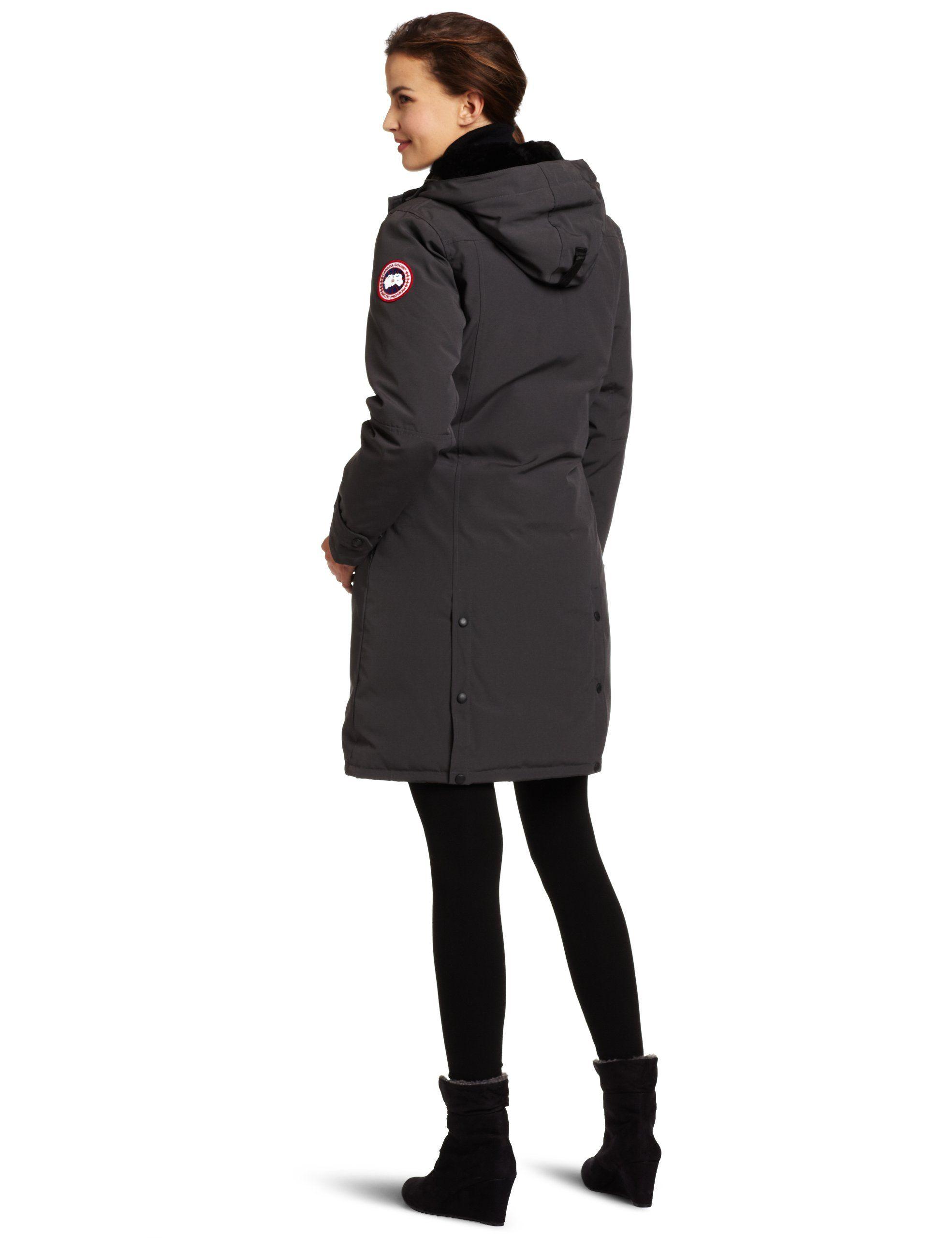 Amazon Com Canada Goose Women S Kensington Parka Coat Skiing Jackets Clothing Kensington Parka Canada Goose Women Parka Coat