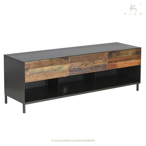 Williston Forge Whiting Solid Wood Tv Stand For Tvs Up To 70