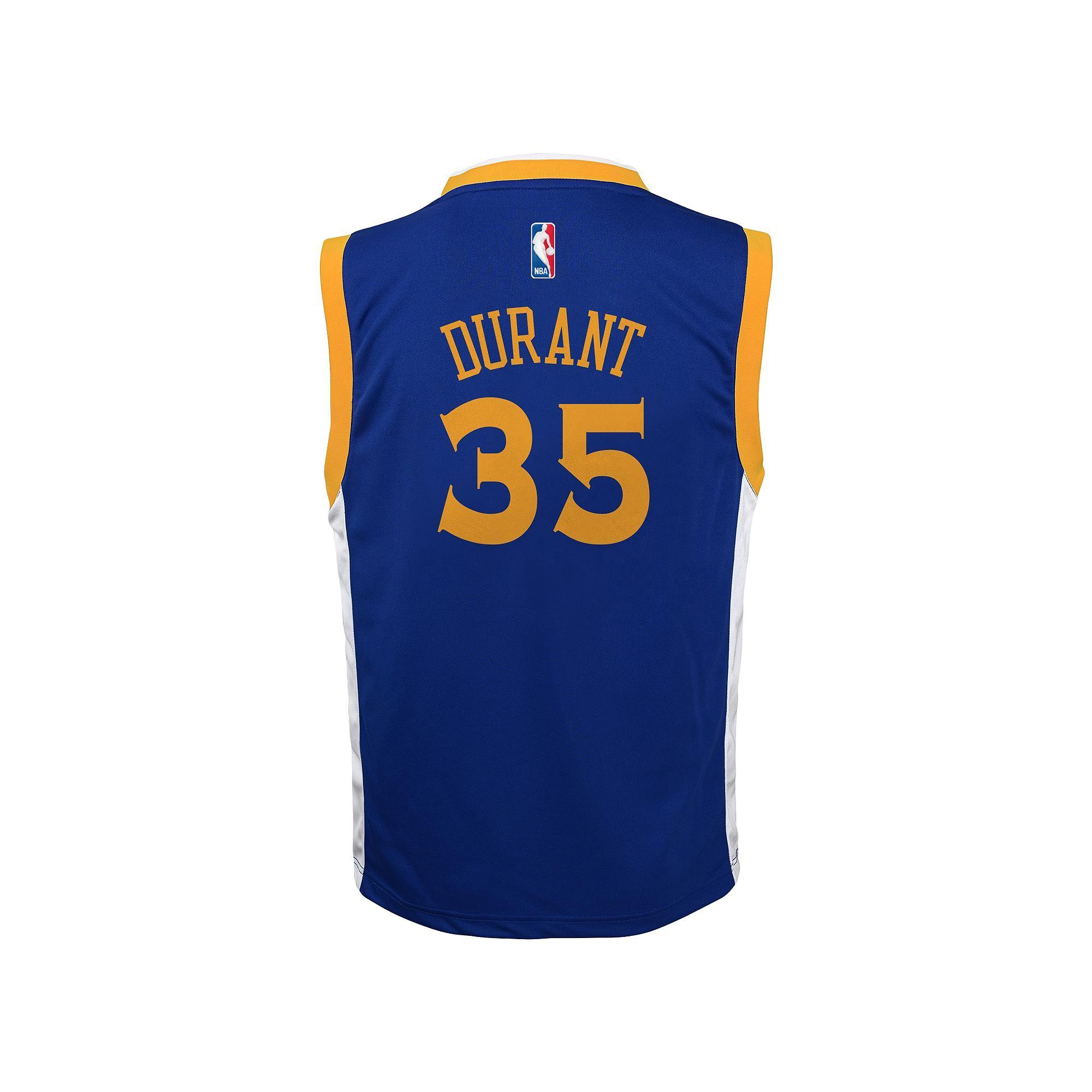 bff067b2 Toddler Adidas Golden State Warriors Kevin Durant Replica Jersey, Kids  Unisex, Size: 2T, White
