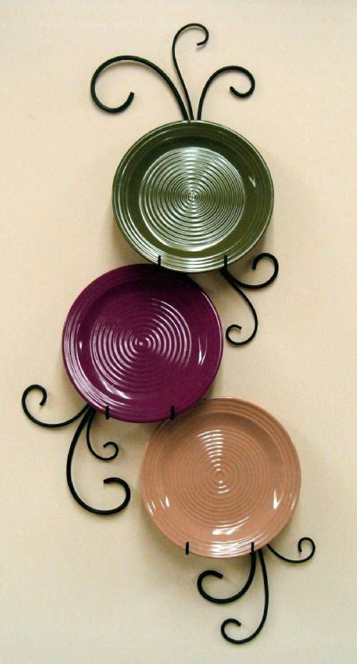 One of our most stylized and popular plate displays! Made in the ...