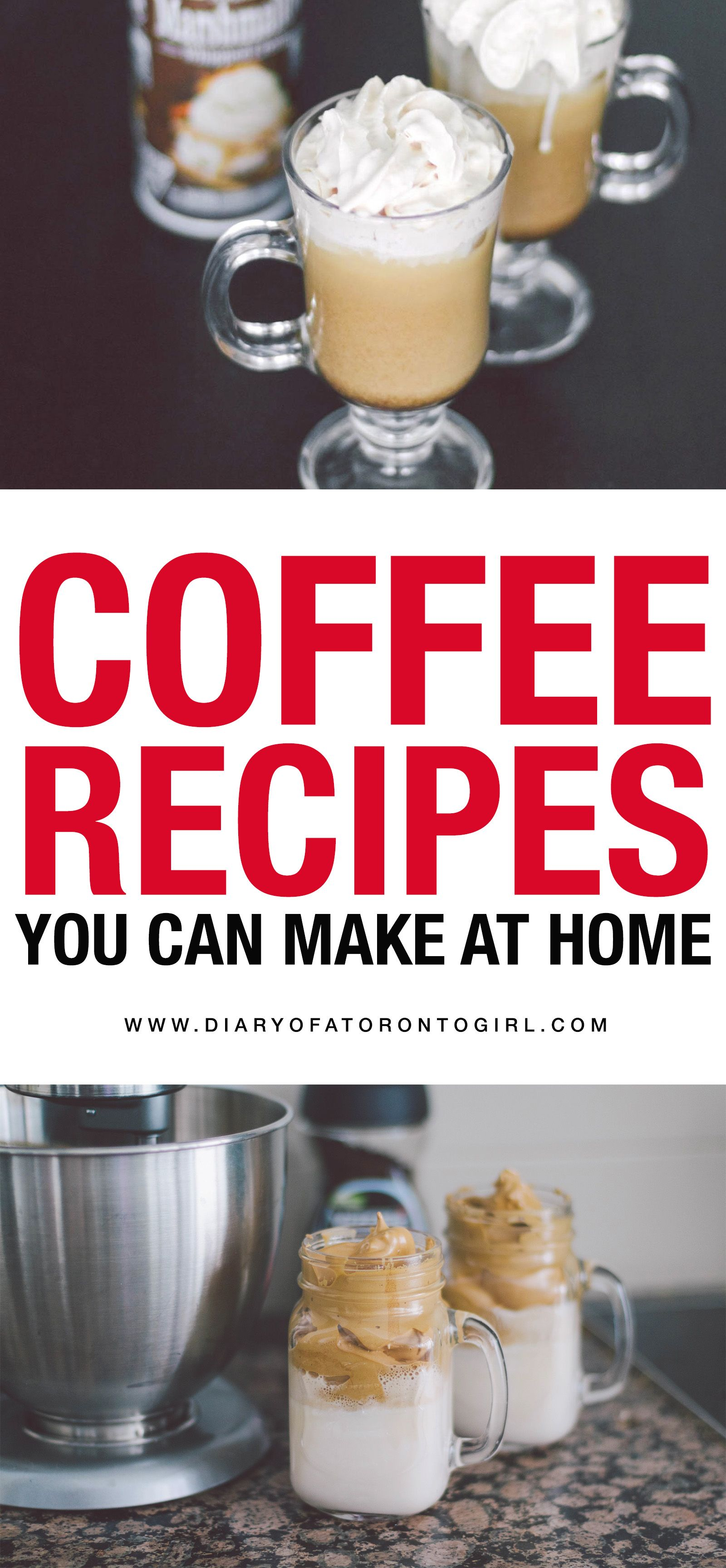 6 easy coffee drink recipes you can make at home in 2020