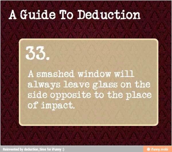A Guide To Deduction 33 A Guide To Deduction Guide To Manipulation Deduction Guide