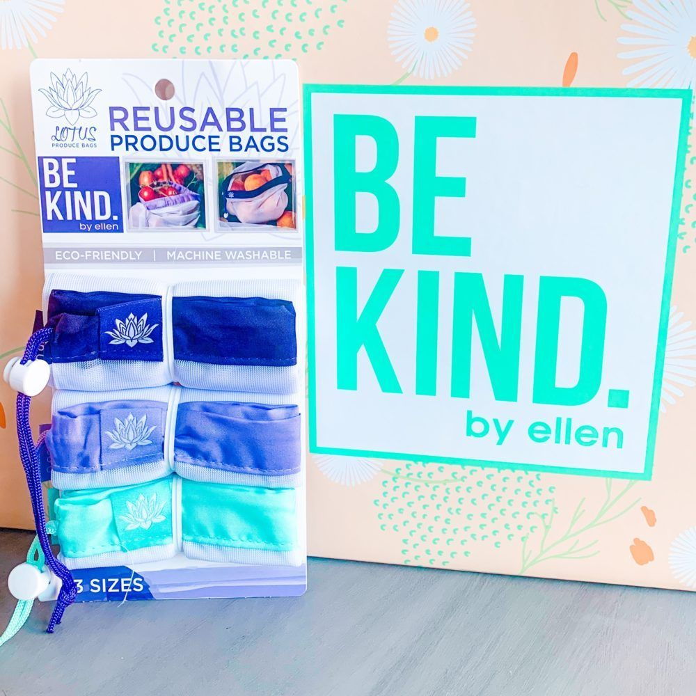 Be Kind By Ellen Memphis Mandysue In 2020 Reusable Produce Bags Kindness Produce Bags