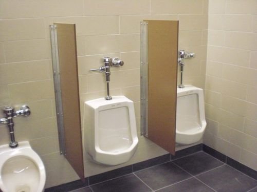 Commercial Restroom Urinal Screens Dividers Measure X Inches - Bathroom partition installers