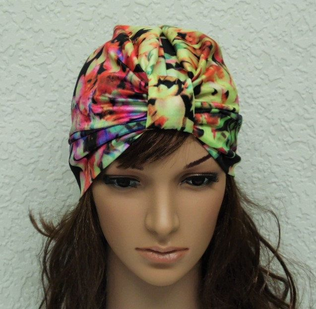 Women's turban, handmade turban hat for women, satin turban, stylish hat, satin hat, summer hat, fashion turban, made in stretchy satin by accessoriesbyrita on Etsy