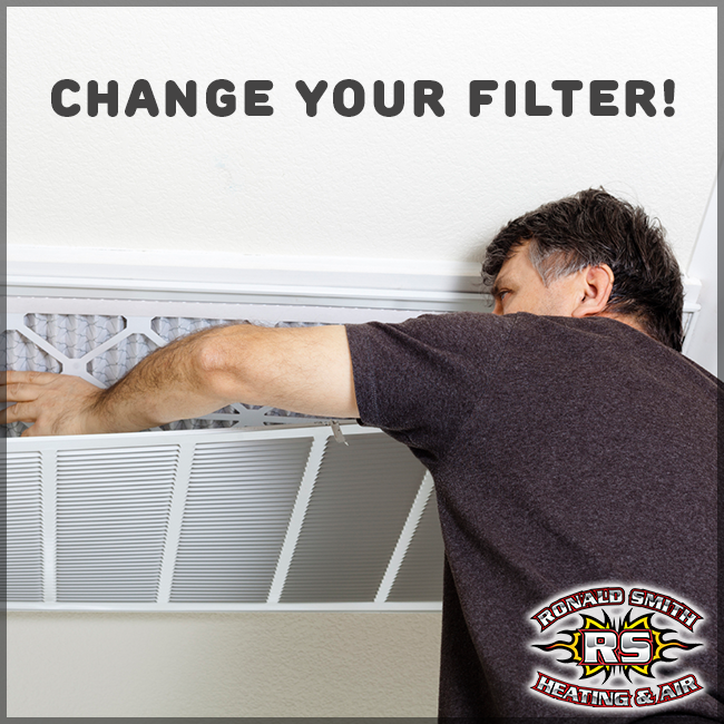 Don't to change your air conditioning filters to