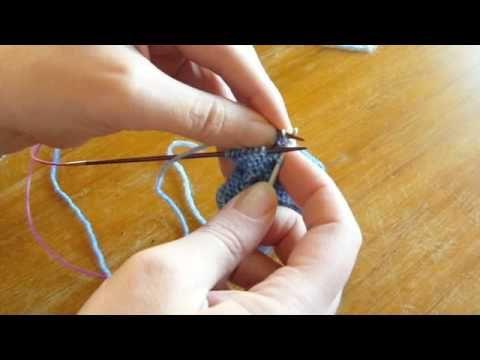 Kitchener Stitch Knitting Using Crochet Hook
