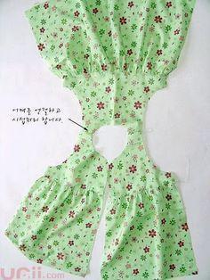 Molde Vestido de Bebê Olá queridas amigas, Fiz um vestidinho bem simples, mas ...