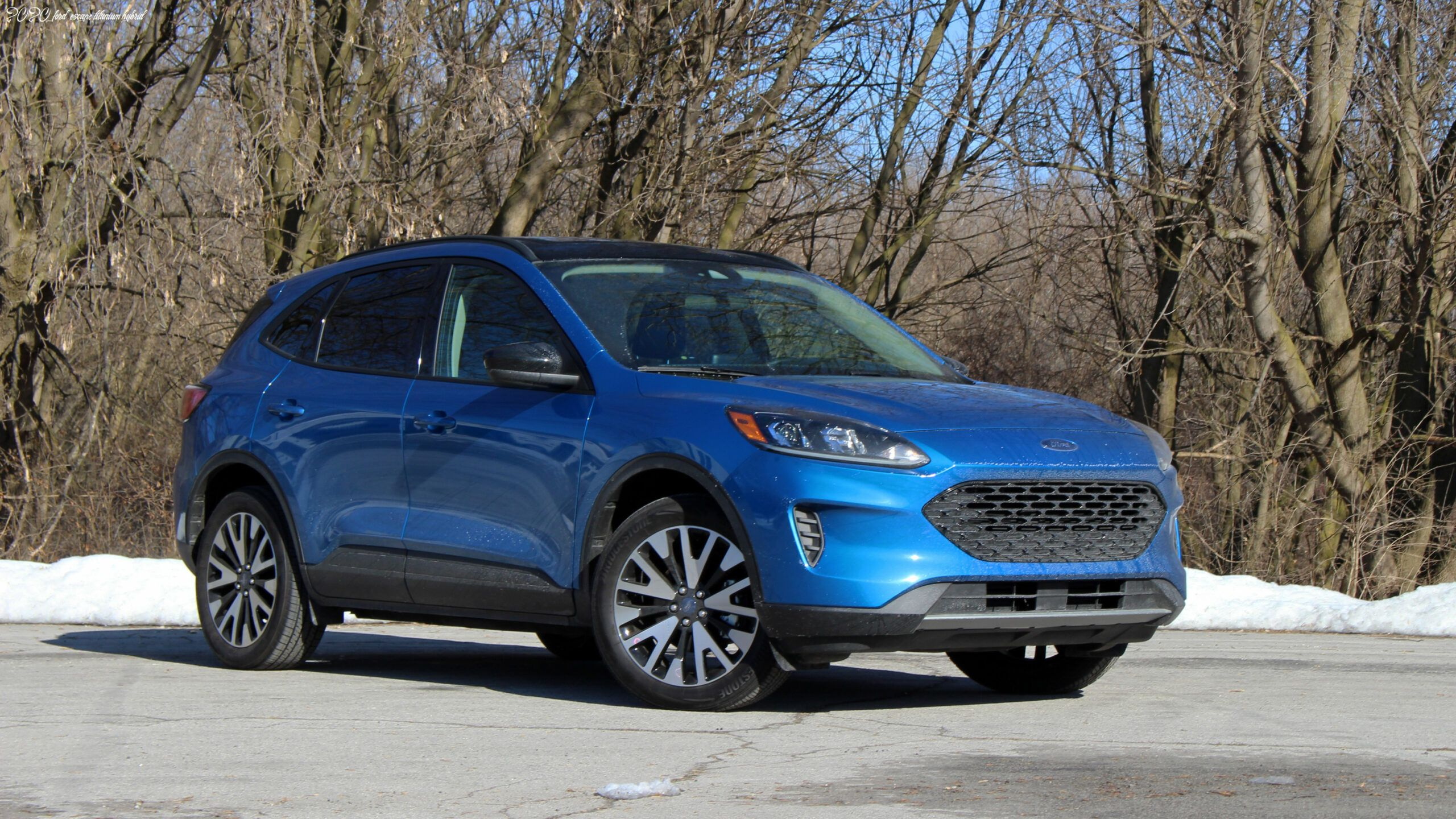 2020 Ford Escape Titanium Hybrid In 2020 Ford Escape Ford Toyota Rav4 Hybrid