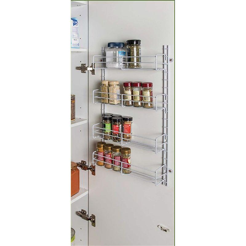 Find REstored 350mm White Adjustable Spice Rack At