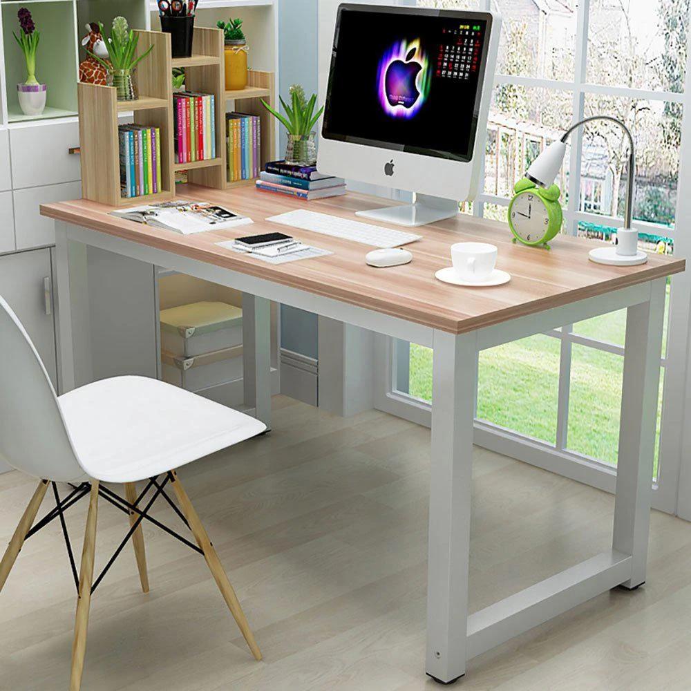 Ktaxon Wood Computer Desk Pc Laptop Study Table Workstation Home