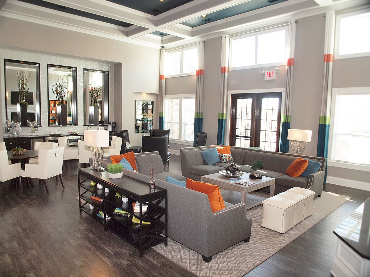 Clubhouse Senior Living Interior Design Clubhouse Design Living Room Lounge #rent #a #center #living #room