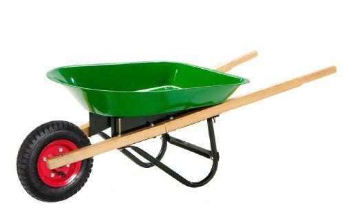 13 Off Was 54 99 Now Is 47 80 Morgan Cycle Junior Size Steel Garden Wheel Barrow Green Free Shipping Wheelbarrow Ride On Toys Outdoor Toys