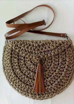une idée de besace au crochet pour cet été - La Grenouille Tricote