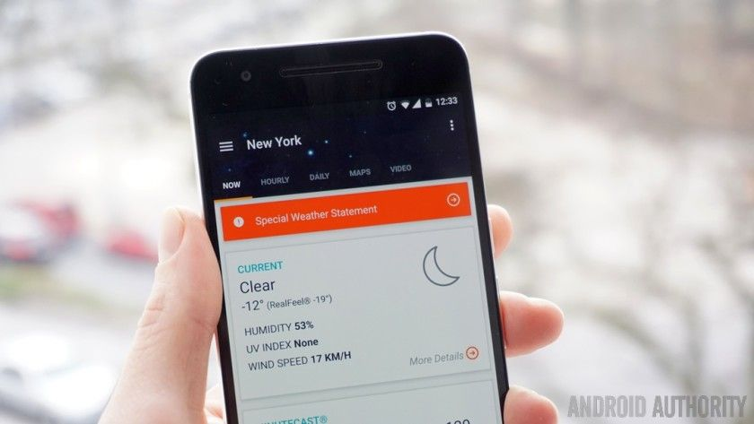 AccuWeather app for Android TV is now available Android