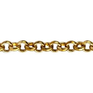 Brass Chain | Rolo Cable 3.5mm | Cool Tools