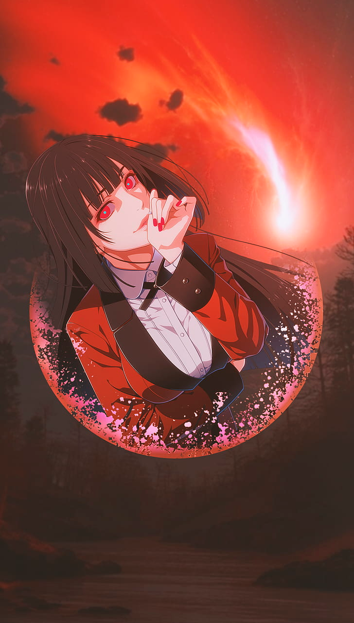 Anime Anime Girls Picture In Picture Jabami Yumeko Kakegurui Hd Wallpaper In 2020 Yandere Anime Cute Anime Wallpaper Anime Wallpaper
