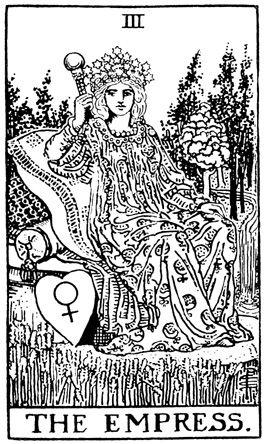 Rider Waite Tarot Line Drawing Google Search Tarot Astrologico Tirada De Tarot Gratis La Emperatriz Tarot