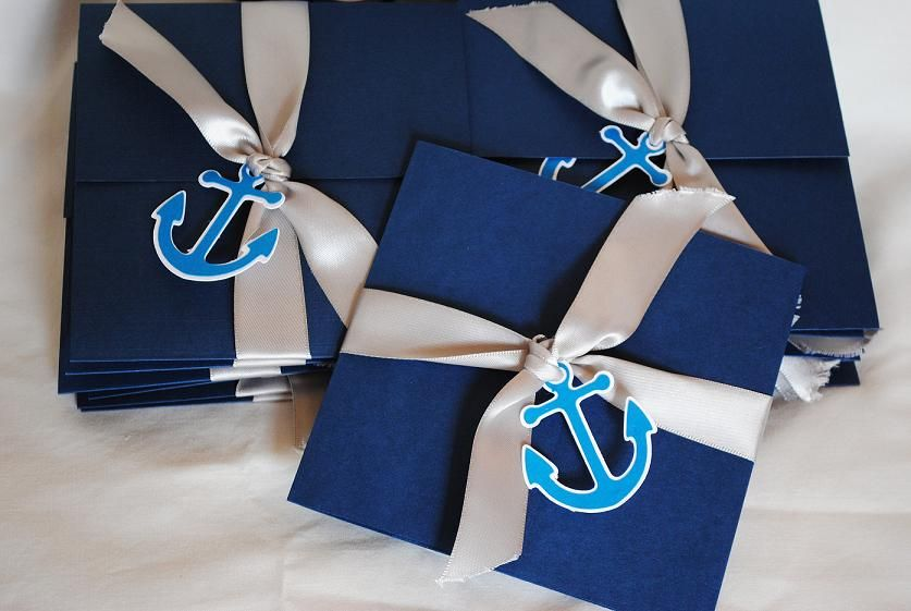 nautical baby shower party ideas | nautical invitations, ahoy, Baby shower invitations