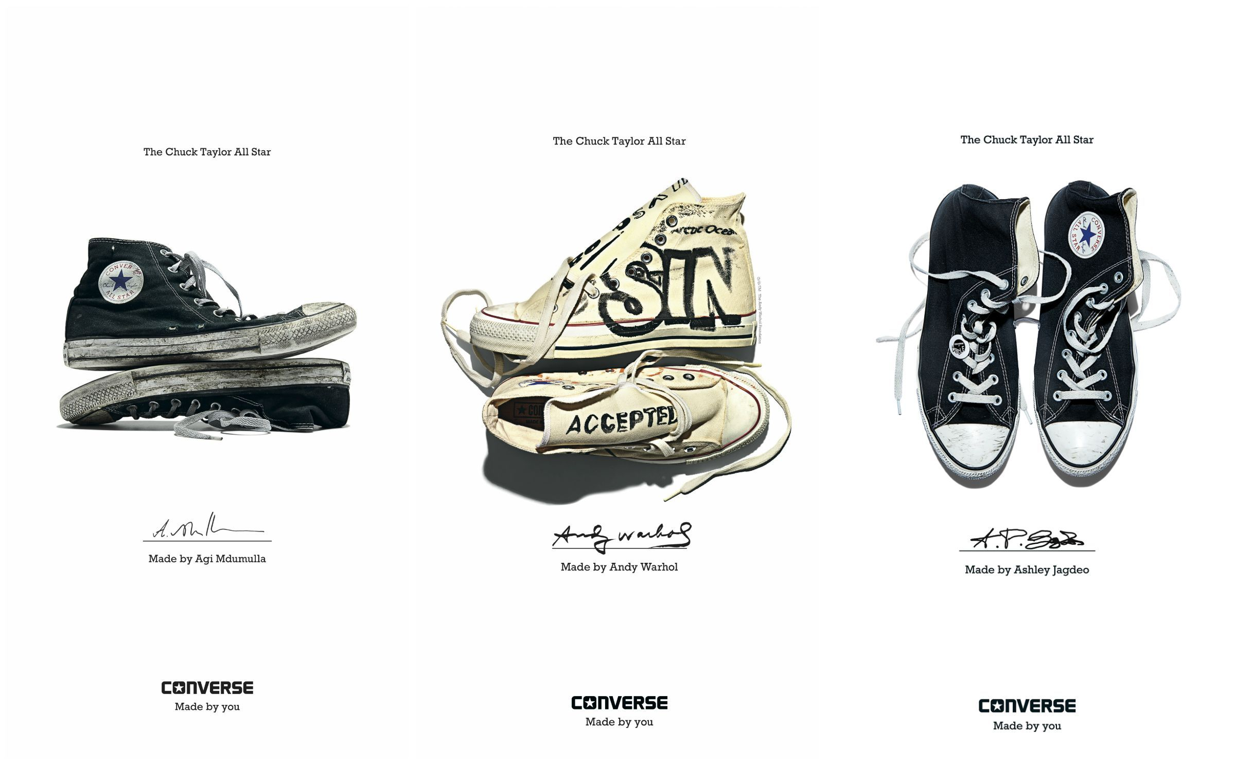 Converse Made By You Campaign | FashionBeans