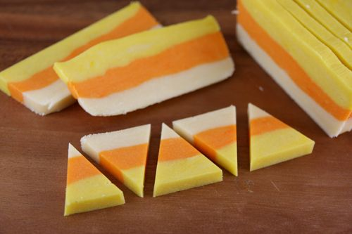 Candy Corn Sugar Cookies | Our Best Bites
