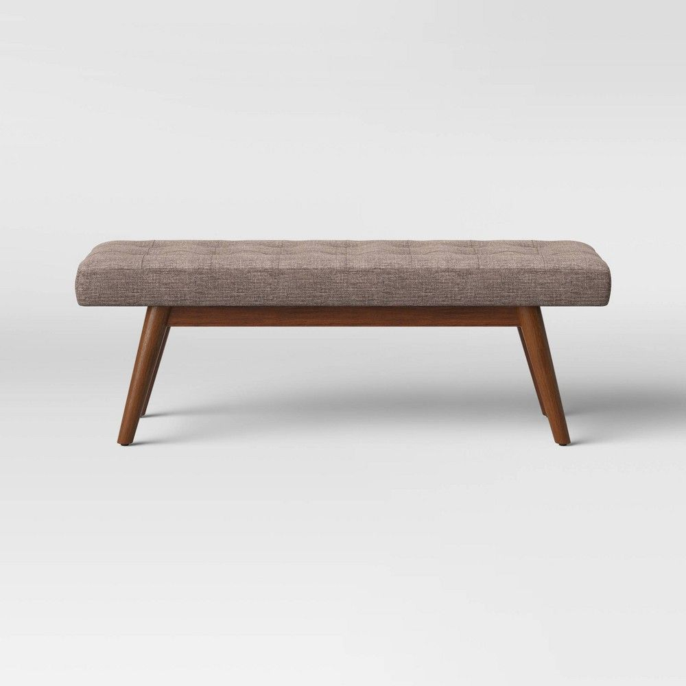Copan Mid Century Bench Brown Project 62 In 2020 Mid Century Bench Mid Century Modern Bench Project 62