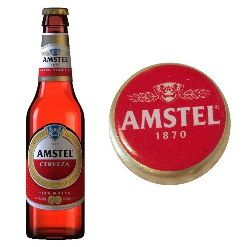 186 Amstel Cerveza Y Malta