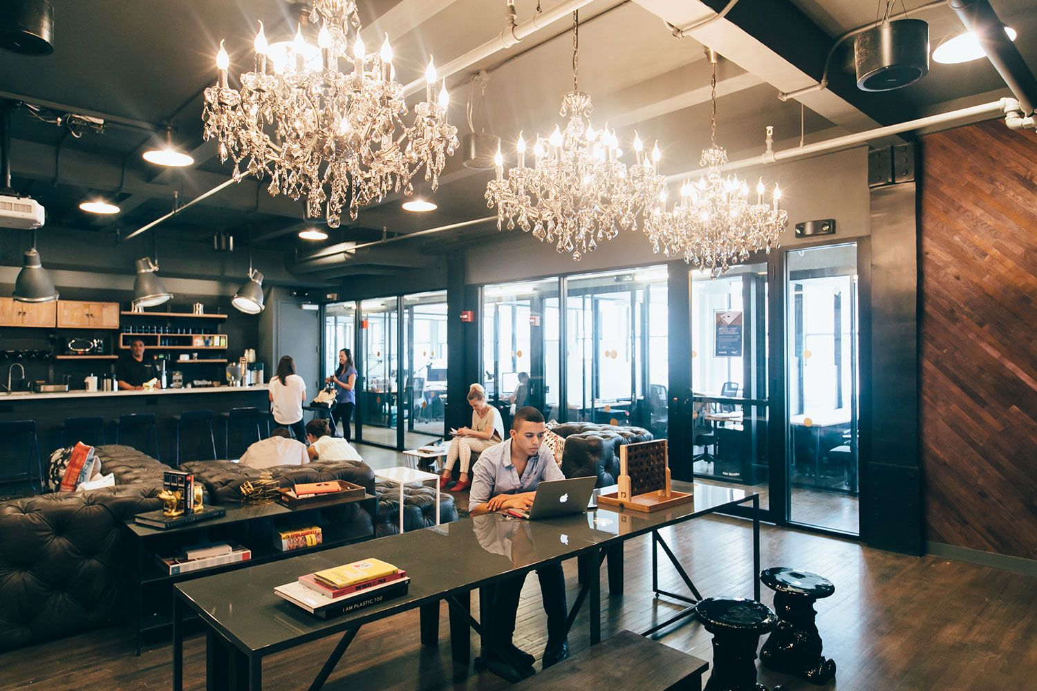 Nyc coworking space google search loft pinterest Coworking space design ideas