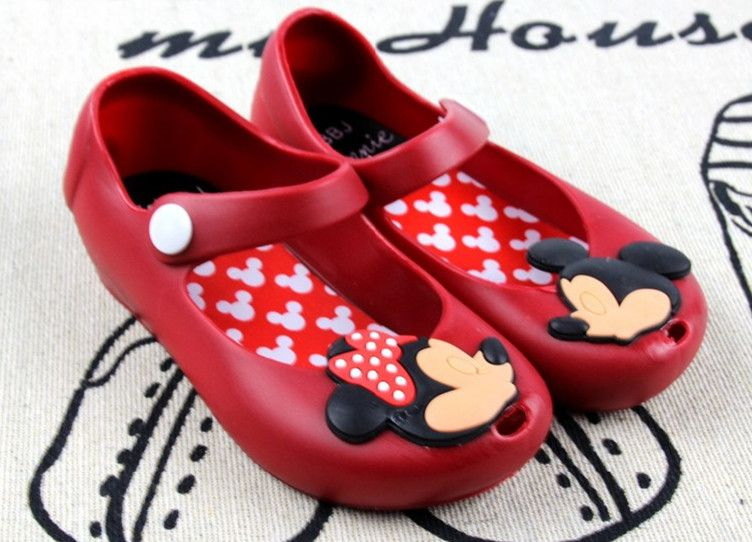 >> Click to Buy << Minnie Mouse Shoes Baby Boy Girl Sandals Cartoon Minnie Shoe Kid Summer Beach Jelly Shoe Infantil Sandalia 1-3Y #Affiliate