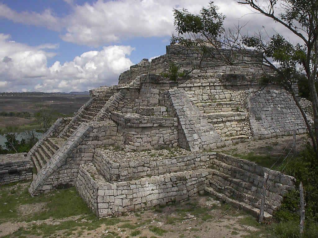 Piramides mayas en mexico