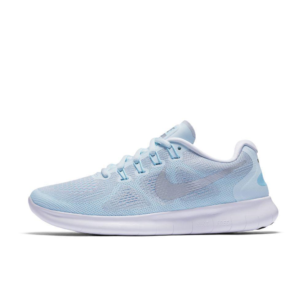 Nike Free RN 2017 Women's Running Shoe Size 7 (Blue) http://
